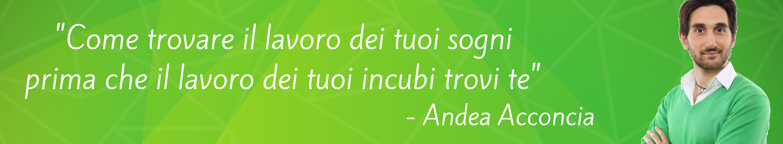 Andrea Acconcia Blog - Andrea Acconcia Blog